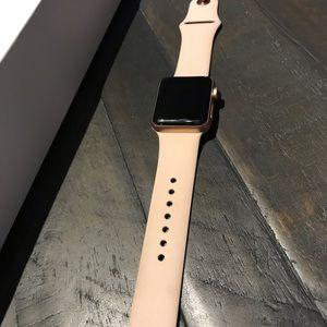 Apple Series 3 watch.